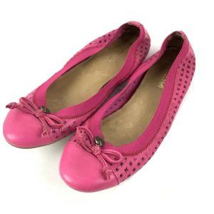 Sperry Top Sider Shoes Womens 7 Elise Ballet Pink
